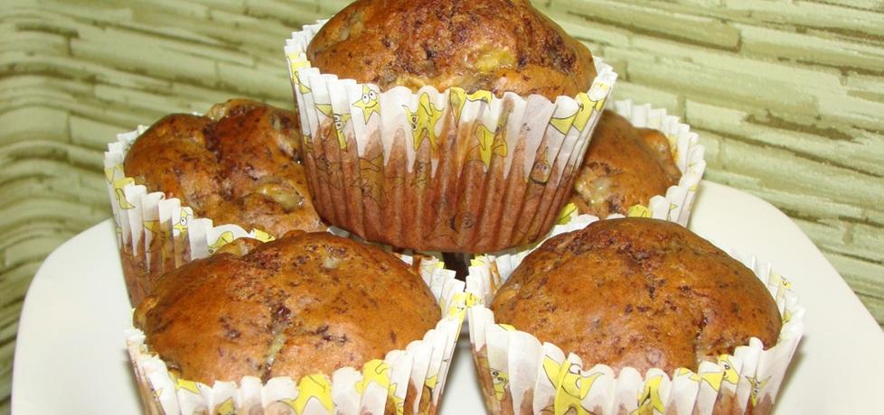 Muffinki z miodem i bananami (autor: katarzynakate1980 ...