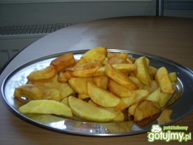 Przepis  smażone ziemniaczki 4 przepis