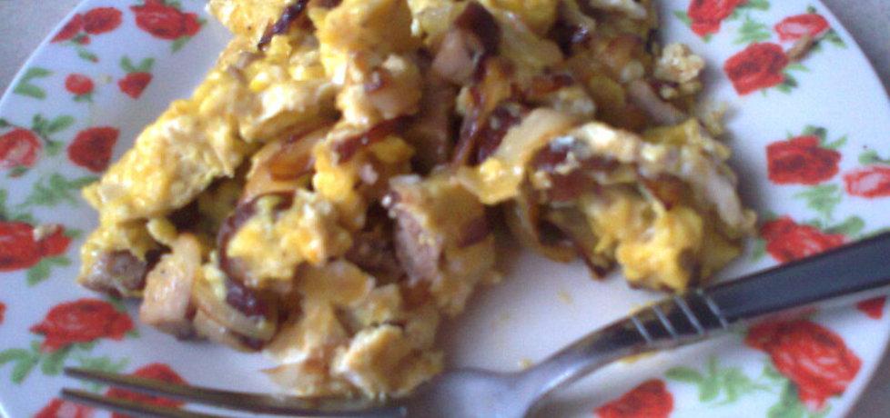 Pyszna jajecznica z cebulą (autor: monika141)