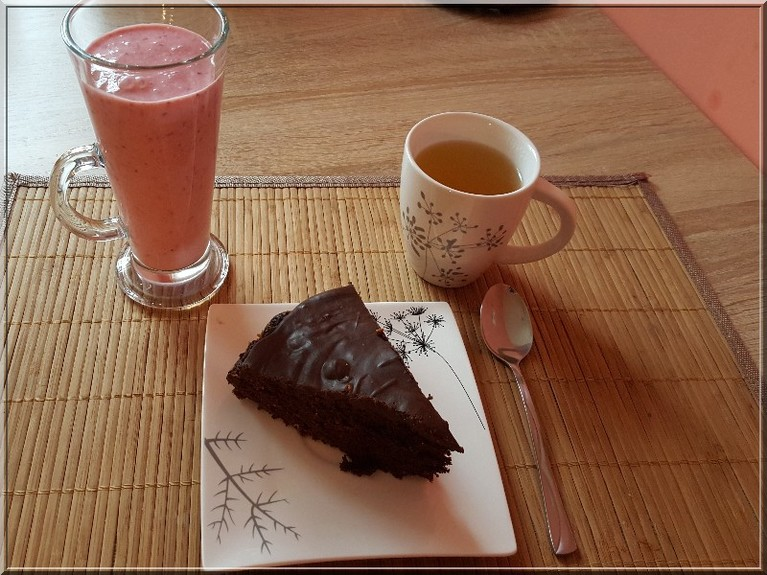 Smakowite ciasto czekoladowe