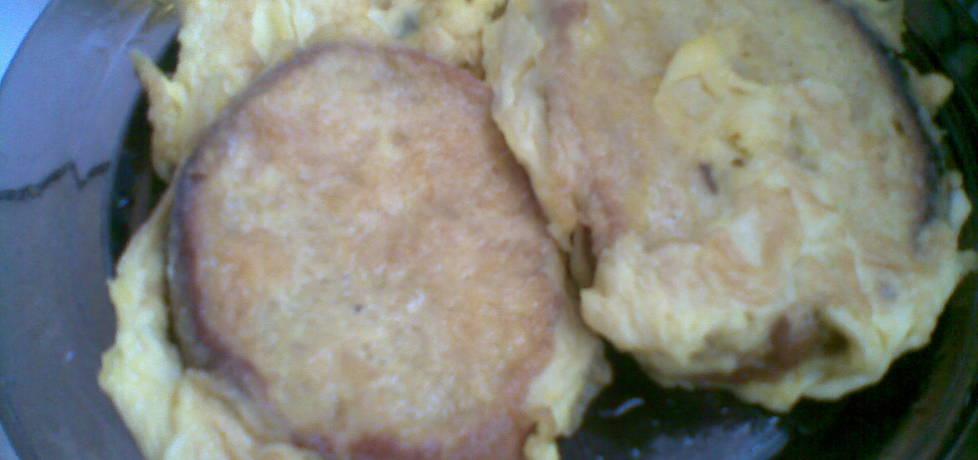 Odświeżany chleb w jajku (autor: miroslawa4)