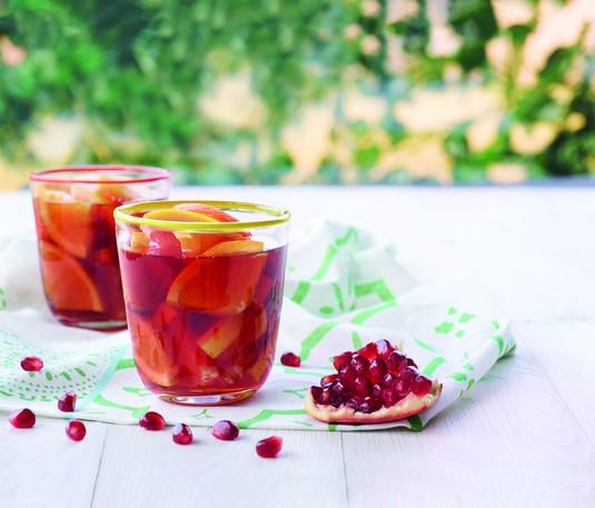 Wiosenna herbata owocowa