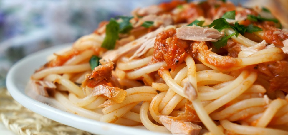 Spaghetti z tuńczykiem (autor: aliss06)