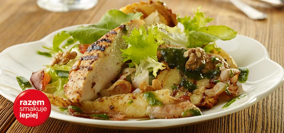 Grillowane filety z kurczaka z gruszkami i oscypkiem (autor: doradca ...