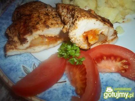 Przepis  pierś z kurczaka z pastą adżika 2 przepis