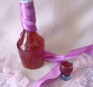 Nalewka z winogron ogrodowych czerwonych