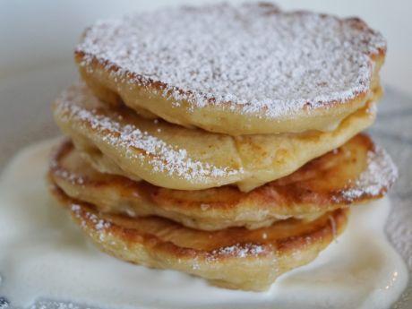 Przepis  pancakes z ananasem i bananem przepis