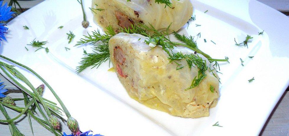 Gołąbki z ziemniakami ,cebulką i boczkiem (autor: anna133 ...