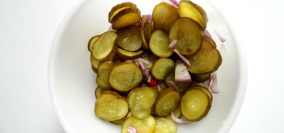 Surówka z ogórków i chili (autor: patunia87)