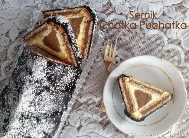 Sernik chatka puchatka (baby jagi lub trójkąt) – ciasto bez pieczenia