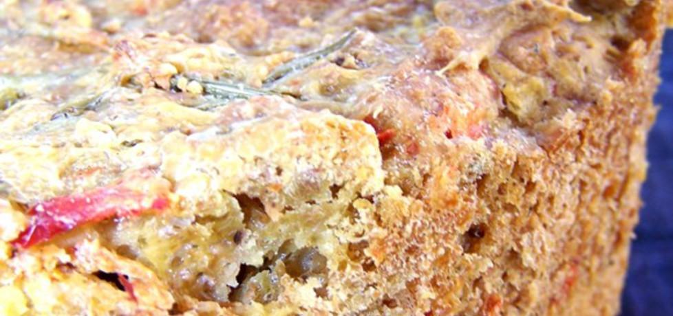 Pikantny chlebek z cukinią i papryką (autor: caralajna ...