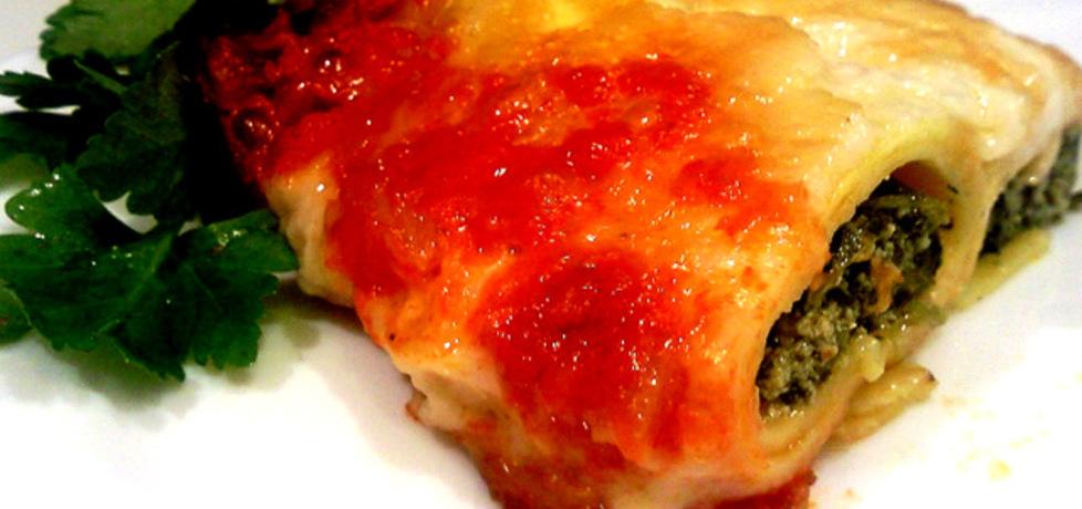 Cannelloni z ricottą i szpinakiem w pomidorach (autor: cris04 ...