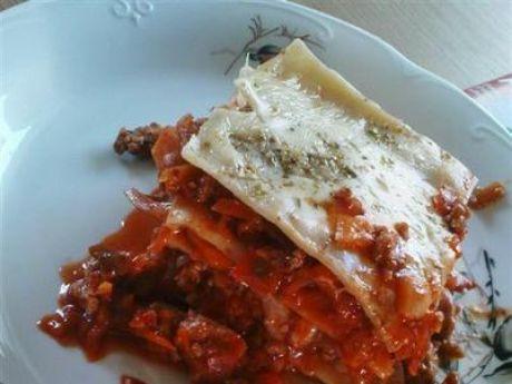 Przepis  lasagne z warzywami i mięsem wg triss przepis