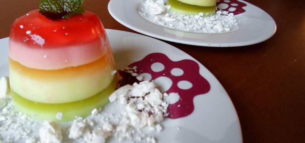Kolorowe muffinki galaretkowe (autor: dwa-pokoje-z