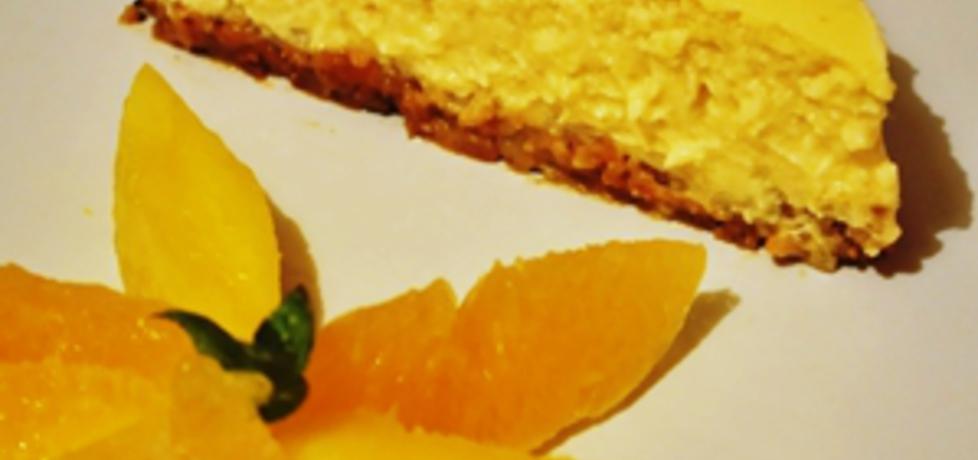 Sernik z białą czekoladą i mango (autor: grumko)