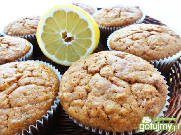 Przepis  cytrynki, czyli cytrynowe muffinki przepis