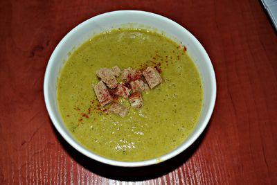 Zupa krem brokułowo
