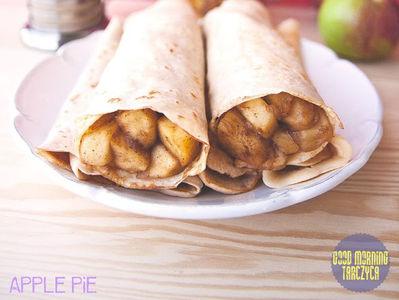 Naleśnikowe apple pie