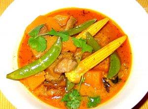 Curry z jagnięciną i dynią  prosty przepis i składniki