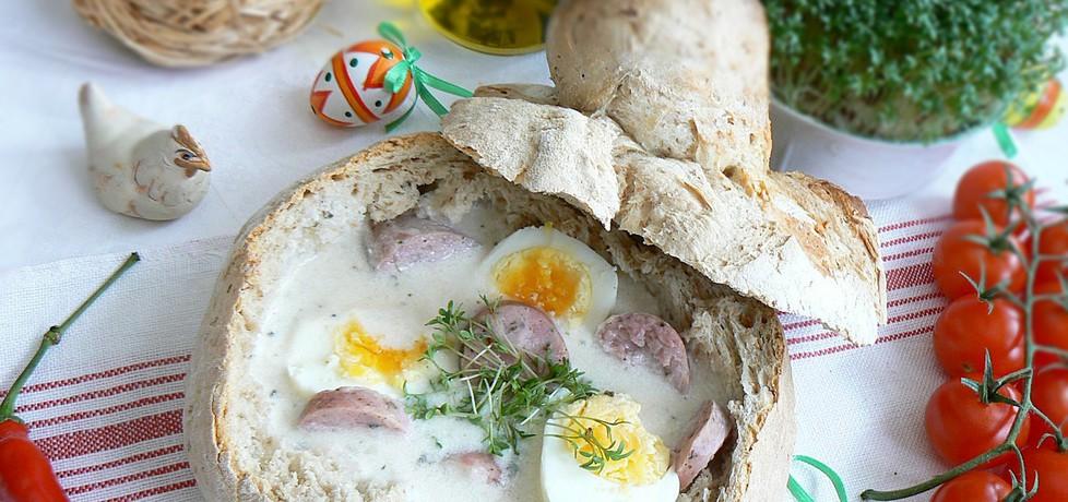 Żurek w chlebie własnego wypieku (autor: mysza75 ...
