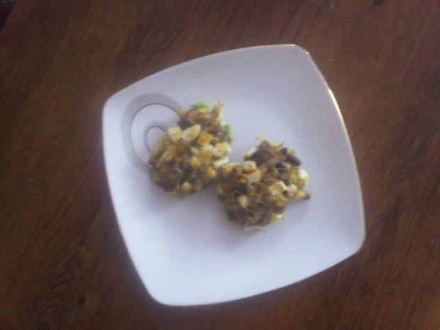 Przepis  kotleciki z pieczarek i jajek przepis