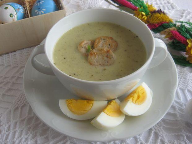 Zupy: wielkanocna zupa chrzanowa