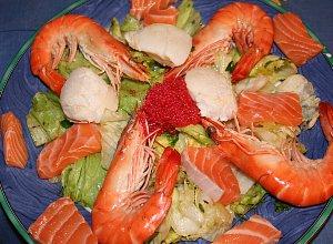 Morska salatka  prosty przepis i składniki