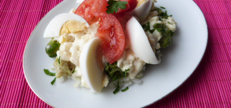 Sałatka z brukselki z jajkiem (autor: renatazet)