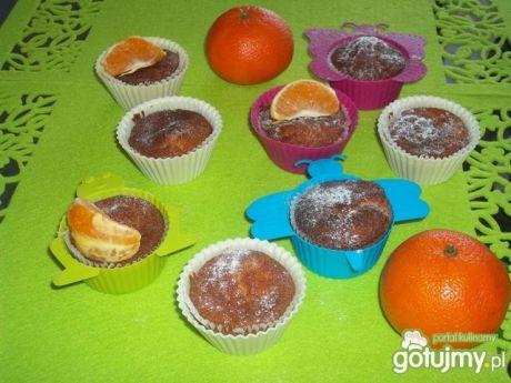 Przepis  muffinki z mandarynką przepis