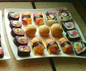 Kolorowe sushi