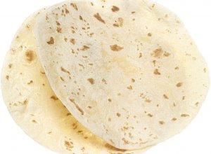 Tortilla  łatwa do zwijania, nie łamiąca się