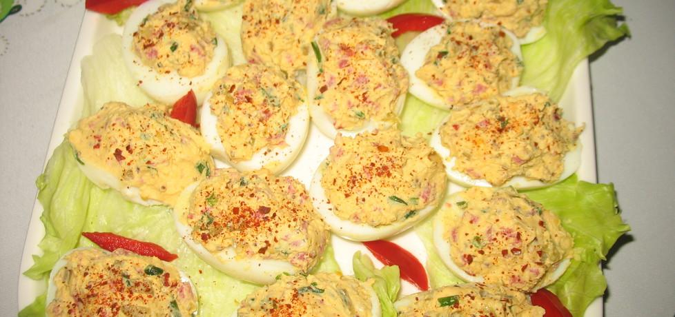 Jajka z farszem z salami (autor: berys18)