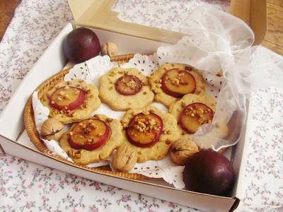 Ciasteczka pełnoziarniste z orzeszkami