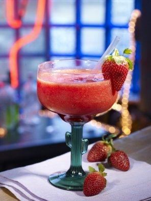 Margarita truskawkowa  prosty przepis i składniki