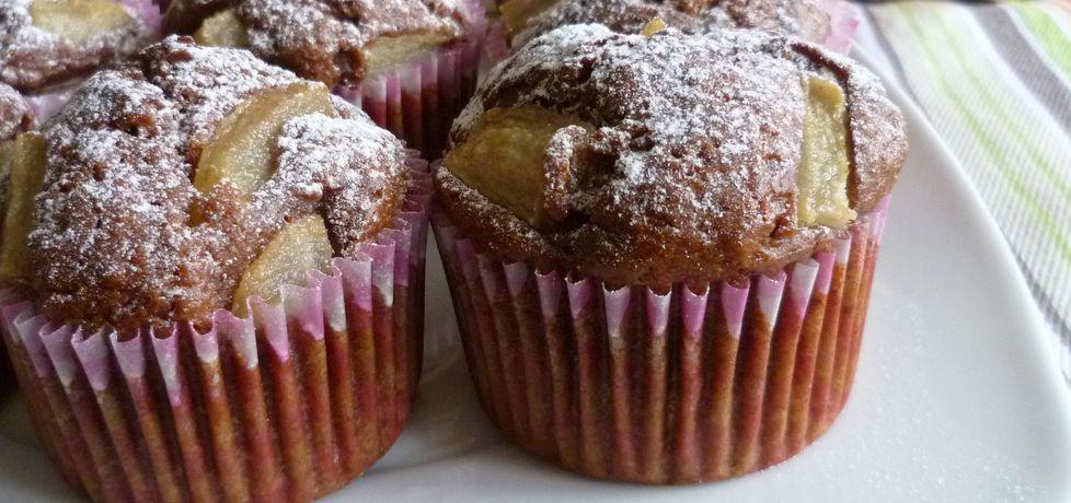 Muffiny jogurtowe z gruszkami (autor: krystyna32)