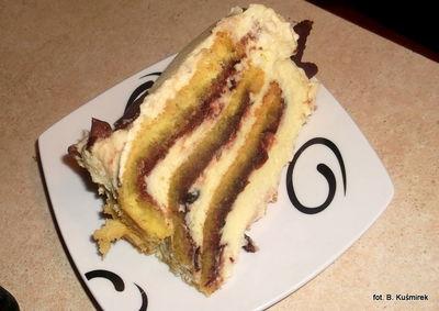Tort zwijany ( rolada)