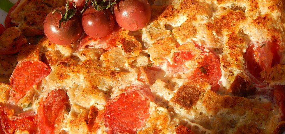 Omlet chlebowy z pomidorami i ziołami (autor: habibi ...