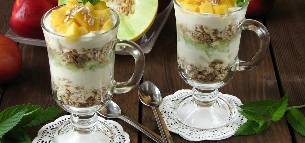 Desery jogurtowe z płatkami owsianymi (autor: bogusia