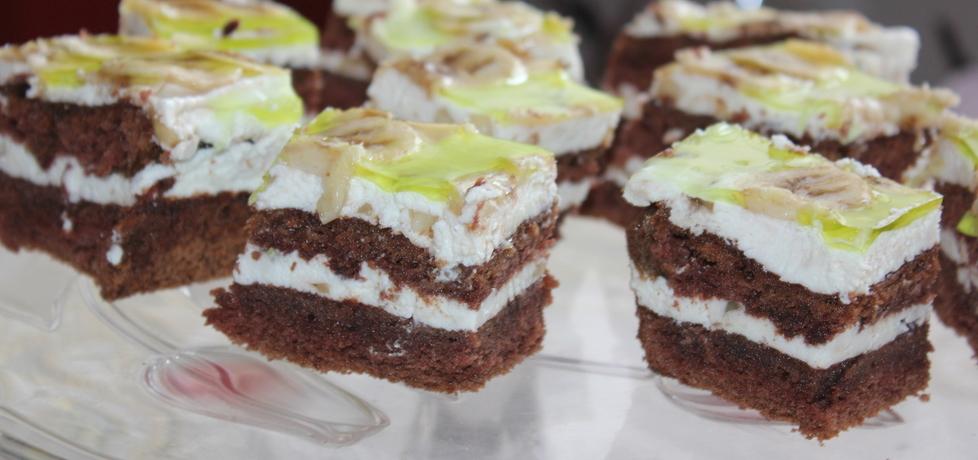 Ciasto czekoladowe z bananami (autor: iskierka.ag ...