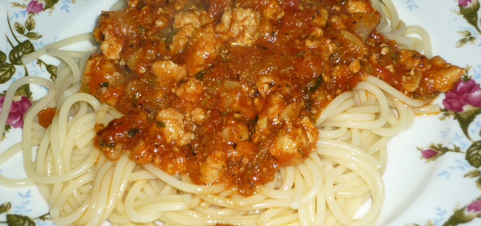 Ostre spaghetti z natką pietruszki (autor: wafelek2601 ...