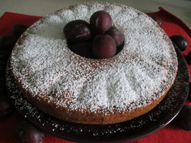 Przepis  ciasto śliwkowe z migdałami przepis