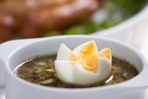 Barszcz biały z jajkiem  prosty przepis i składniki