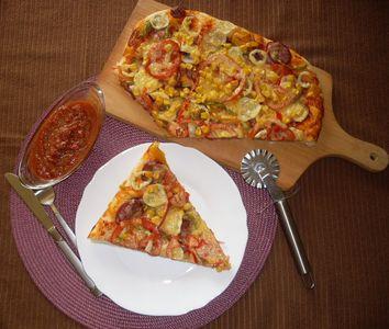 Kolorowa pizza