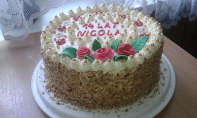 Tort śmietankowo