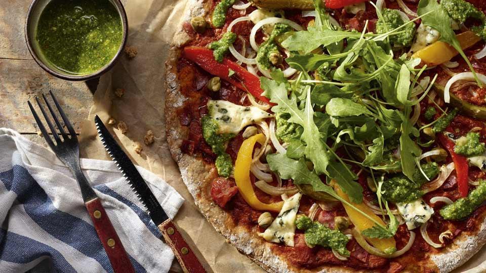 Przepis na razową pizzę