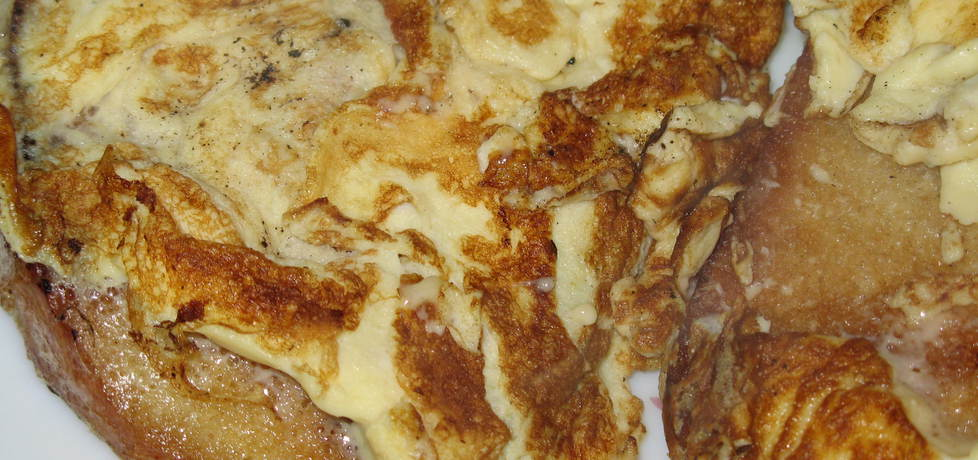 Smażony chleb z jajkiem (autor: plocia)