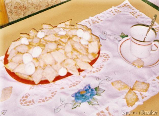 Ciasteczka z kożuchów z mleka :)