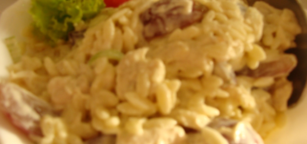 Sałatka z makaronem ryżowym (autor: agnieszka214 ...