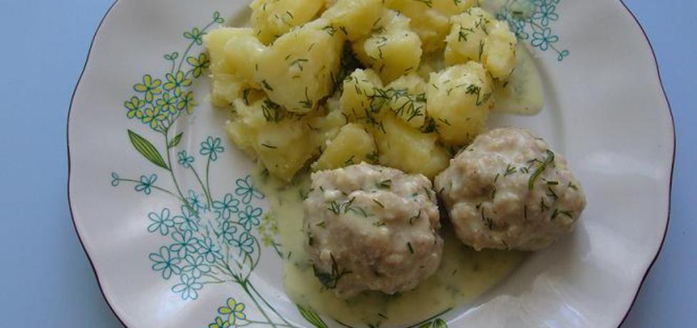 Klopsy w sosie koperkowym z ziemniakami (autor: nataliatubisiek ...