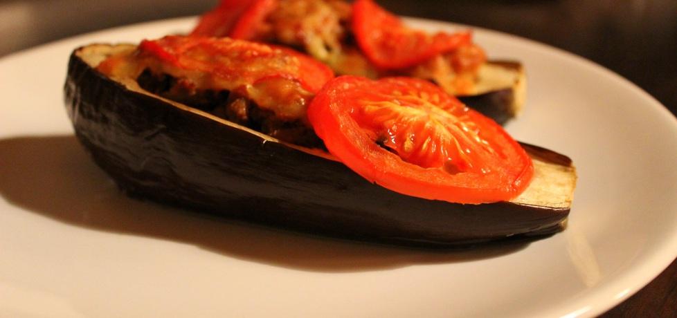 Bakłażan faszerowany mięsem mielonym i natką pietruszki z ...